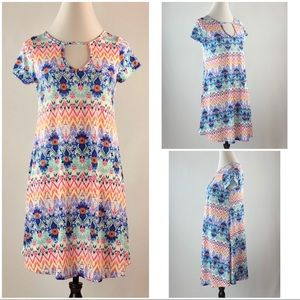 Dresses & Skirts - 🐬 Abstract Print Sun Dress